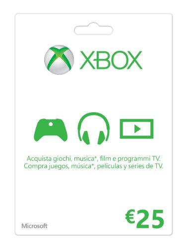 Xbox Live - Gift Card 25 Euro