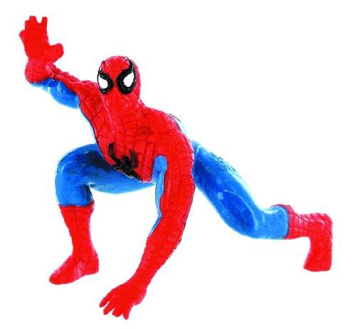 Spiderman - Figura agachada, Color Rojo (Comansi 96014) 1
