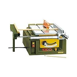 Scie à table Proxxon FET de coupe fine, pièces 1, vert / argent / noir / jaune / orange / rouge, 2707
