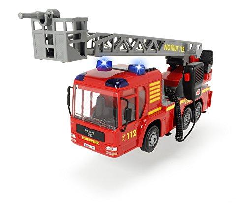 feuerwehrauto Dickie Toys 203716003 - Fire Hero, Feuerwehrauto inklusive Batterien, (mit der Leiter in eingefahrenem Zustand,43 cm)