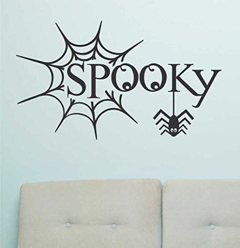 chmücken Spooky Web Feiern Urlaub Design Schlafzimmer Tür Tapete Kinder Geschenk Decals Vinyl Aufkleber Dekor ()