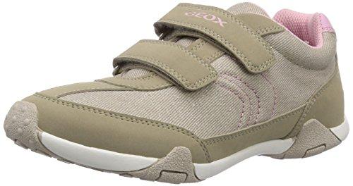 Geox JR TALE A Mädchen Sneakers Beige (Beigec5000)