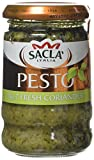 Sacla' Fresh Coriander Pesto 190 g (Pack of 6)