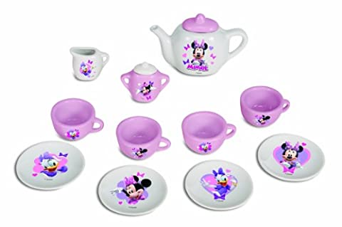 Simba Disney Porcelain Tea Set Minnie Mouse Daisy Cups and Teapot Toy