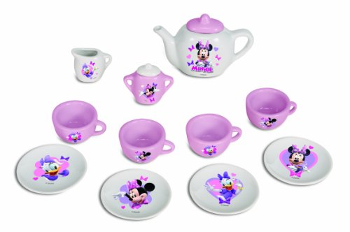 Minnie Mouse - Juego de té de porcelana, 25 x 21 cm (Simba 42624064)