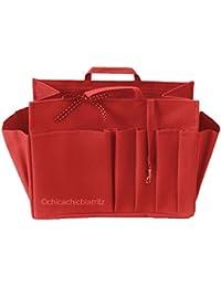 Organisateur De Sac - L Rouge - Taille L : Long 24 Cm X Haut 17 Cm X Prof 11 Cm