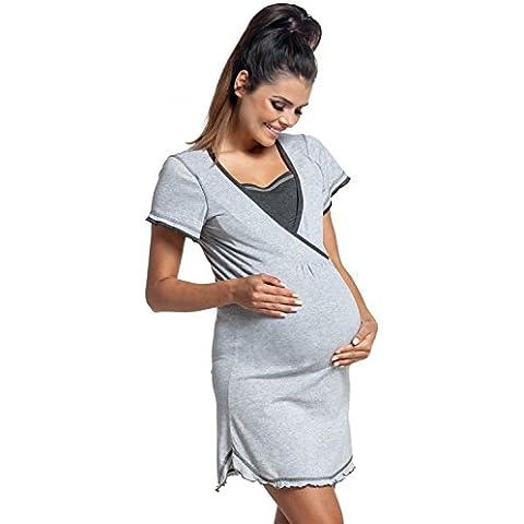 Zeta Ville - Camisón / bata embarazo y lactancia MEZCLA Y COMBINA - mujer - 772c