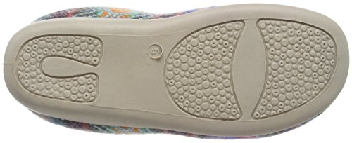 Dunlop - Agace, Pantofole Donna Rosa (Rosa (Fuchsia))