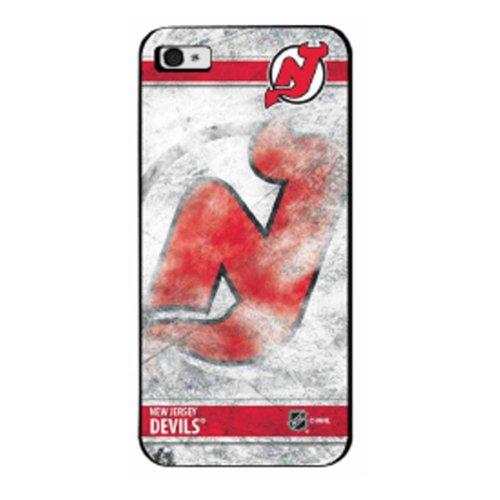 Pangea NHL Schutzhülle für iPhone 5, Motiv New Jersey Devils Ice Nhl Jersey Fall