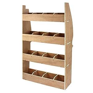 monster racking meuble de rangement en contreplaqu bouleau pour citro n berlingo ii swb. Black Bedroom Furniture Sets. Home Design Ideas
