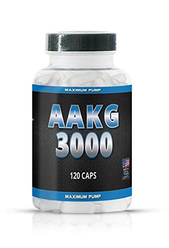AAKG 3000 Arginin Alpha Ketoglutarate - 120 Kapseln - NOX Pump