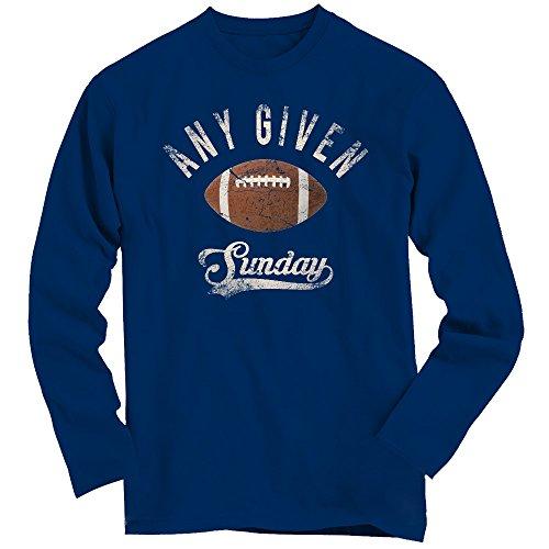 An jedem verdammten Sonntag Longsleeve Shirt | Herren | Super Bowl | Play Offs | Football | Play offs | American Sports | Fanshirt | Langarm T-Shirt © Shirt Happenz navyblau (Navy BCTU005)