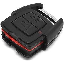 Sedeta sin llave Fob Caso 2Botón remoto caso clave remoto clave Fob Caso Easy Fix alta calidad Durable mejor ajuste, sólido C