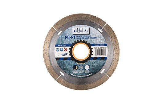 820p6-pt Klinge kontinuierliche Rand für Porzellan und harte Fliesen, silber/messing, 115x 22,2mm ()