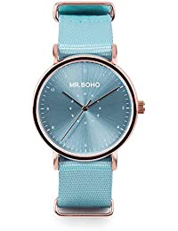 Mr. Boho Reloj Baby Blue 36mm