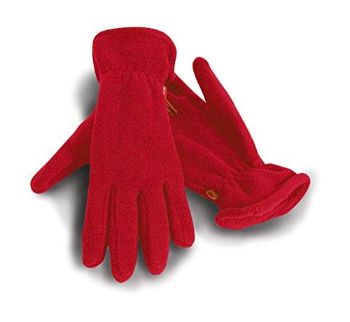 Active Fleece-Handschuhe, Farbe:Red;Größe:M