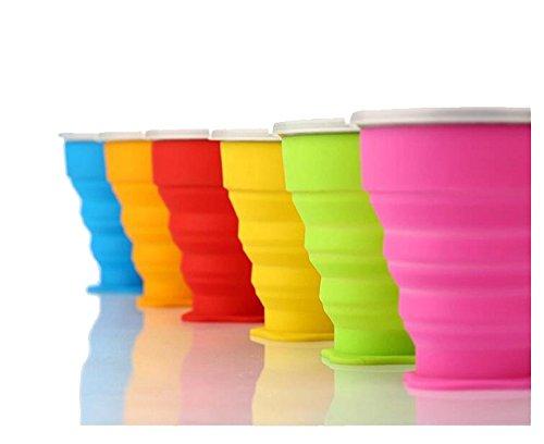 pliage silicone couvercle cup,orange