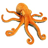 Giant Octopus Plush, Realistic Stuffed Marine Animals, Soft Plush Toys Doll, Halloween Christmas Xmas Birthday Valentine Gifts for Kids Children Boys Girls Friends and Home Decorations, 31.5 inch