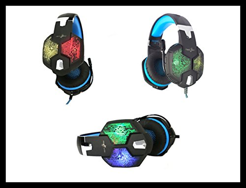 Redgear Hell Scream Professional Gaming Headphones with 7 RGB LED Colors and Vibrations(PC) Image 6