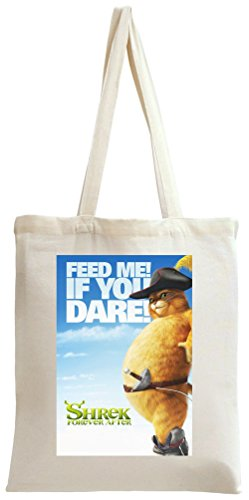 Shrek Forever After Poster Feed Me Tote Bag