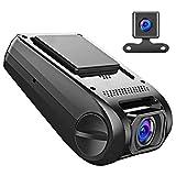 APEMAN Cámara de Coche 1080p Full HD Dashcam con Doble Cámaras Caja Negra con...