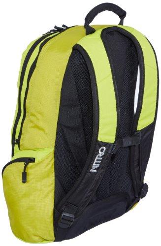 Nitro Zoom Zaino Casual, 50 cm, 29 litri, Gridlock Lime