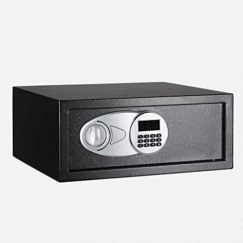 AmazonBasics - Caja fuerte 20L, color negro