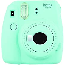 Fujifilm Instax Mini 9 - Cámara instantánea, color ice blue