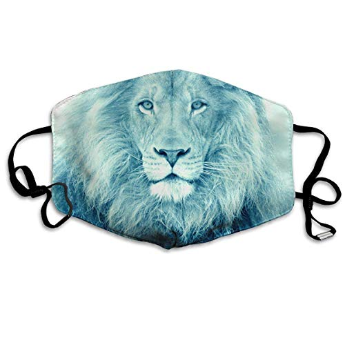 Masken, Masken für Erwachsene,Face Mask, Funny Lions Animals.jpg Allergy & Flu Mask - Comfortable, Washable Protection from Dust, Pollen, Allergens, Cold & Flu Germs Antimicrobial; Asthma Mask