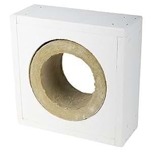 Brandschutz-Decken-Wanddurchführung für Kaminrohr dn 300 mm für Wandstärke 120 mm