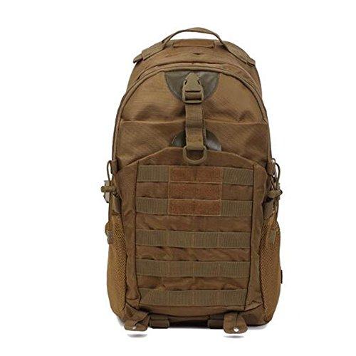 GOUQIN Outdoor Rucksack Klassische Mode Outdoor Rucksäcke Walking Tour Paket Klettern Taschen Khaki