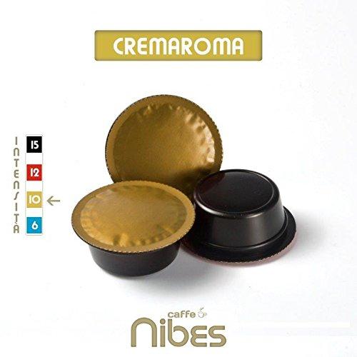 Caffè nibes 200 capsule cialde lavazza a modo mio compatibili arabica cremaroma