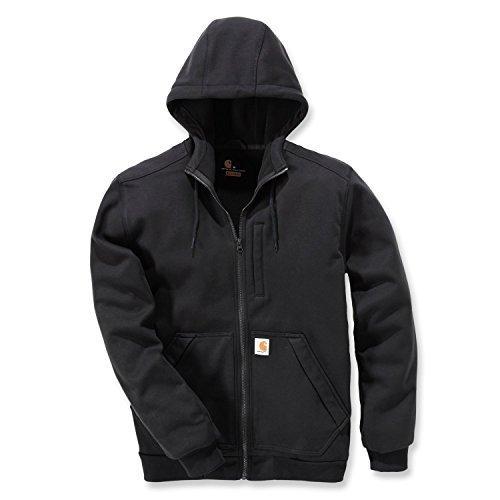 Carhartt Kapuzen Sweatshirt Wind Fighter, Farbe:schwarz, Größe:M