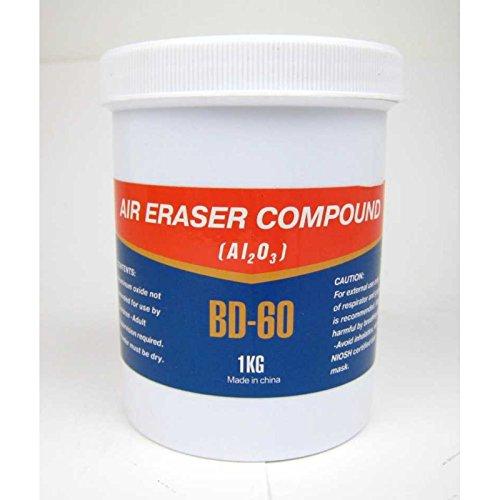 Preisvergleich Produktbild Schleifmittel Strahlsand BD-60 1 Kg für Air-Eraser