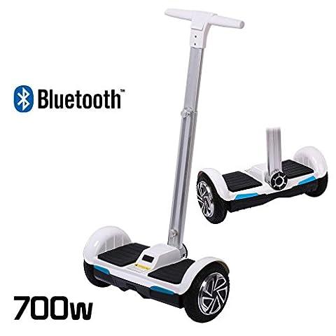 Gyropode Bluetooth - Scooter gyropode électrique 2roues Smart Balance avec