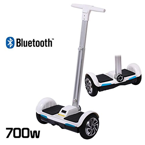 SCOOTER ELECTRICO MONOCICLO 2 RUEDAS SMART BALANCE CON MANILLAR SMART CON BLUETOOTH 700 W
