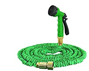 magic hose tuyau d 39 arrosage extensible vert 22 5 m de longueur avec t te de pulv risation. Black Bedroom Furniture Sets. Home Design Ideas