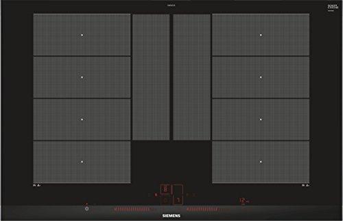 Siemens iQ700 EX875LYC1E Induktions-Kochstelle (Dual LightSlider-Bedienung, Glaskeramik), schwarz