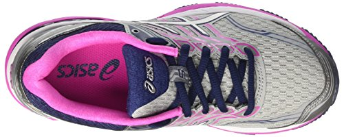 Asics Gt-2000 5, Scarpe Sportive Outdoor Donna Multicolore (Midgrey/white/pink Glow)