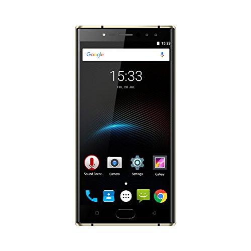 OUKITEL K3 - 5,5' 4G FDD-LTE Smartphone Libres, Android 7.0 Octa Core 4GB+64GB, 6000mAh, 16MP+2MP 4 Cámaras, Dual SIM,...