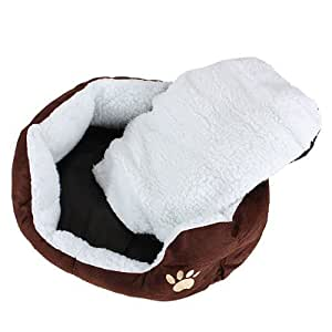 panier corbeille niche coussin matelas lit chien chat animaux 46 42 15cm petite taille coffee. Black Bedroom Furniture Sets. Home Design Ideas