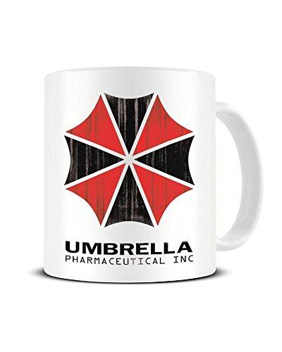 Umbrella Phpharmaceutical Inc – Resident Evil – Keramik-Kaffeebecher – tolle Geschenkidee Funky NE Ltd