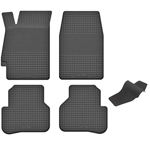 KO-RUBBERMAT Gummimatten mit Tunnel geeignet zur Honda Accord VI (Bj. 1997-2002) ideal angepasst 5-Teile EIN Set (Teile Honda Accord 2002)