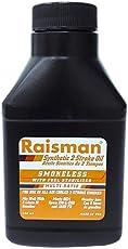 Raisman 2 Stroke Full Synthetic Oil, No-Smoke, 100 ml JASO FD