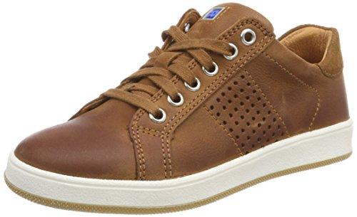 Richter Kinderschuhe Jungen Special Sneaker, Beige (Cognac/Wood), 35 EU