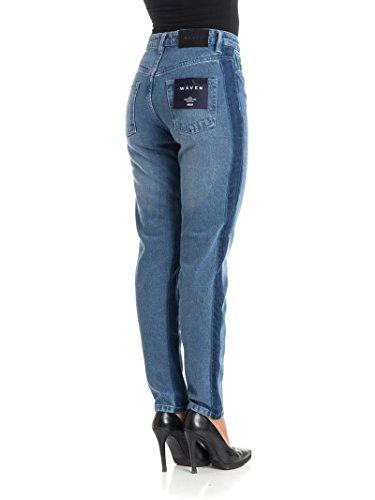 Jeans Waven Elsa Blu