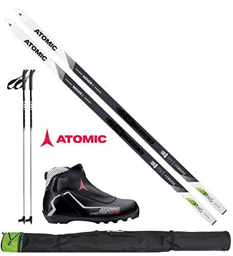 Atomic Langlaufset Mover X in 193cm + Bindung + Schuhe + Stöcke + Skisack 17/18