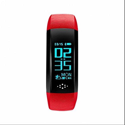 Fitness Armbanduhr,Fitness Tracker mit Pulsuhr mit Zeit,Dtum,Schrittzähler,Kalorienzähler,Entfernungsrechner,Schlafmonitor fitness tracker fitness armband für iOS und Android Handys