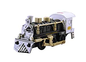 TOYMANIA Pull Back Super Locomotive STEAM Engine Train Toy for Kids.   Elegance Style and Very Realistic Looks.