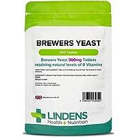 Lindens Bierhefe 300 mg Tabletten | 500 Verpackung | Natürliche Quelle für Vitamine und Mikro-Nährstoffe. Nicht... preisvergleich bei billige-tabletten.eu